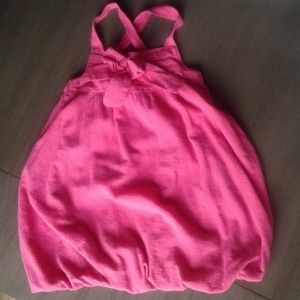 Girls Pink Cherokee Balloon Dress, 4T